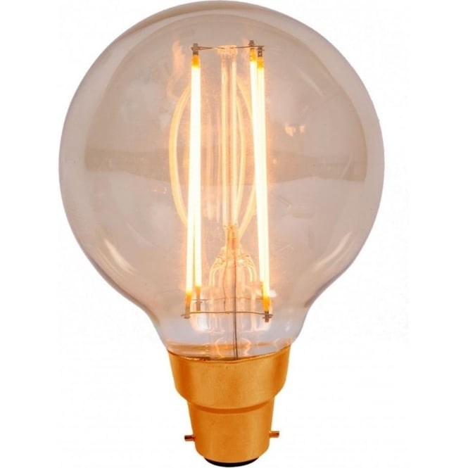 Bell Lighting 4w LED B22 Vintage Style Globe Filament Lamp