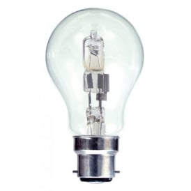 70w B22 Halogen GLS Clear Lamp