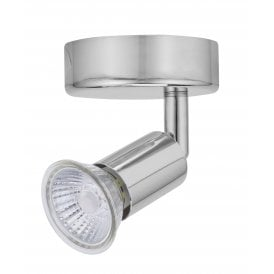 Astro Single Light Spot Light In Polished Chrome Finish