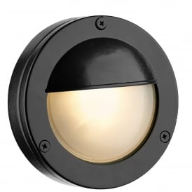 Bembridge Single LED Outdoor Wall Fitting Made From Solid Brass in Oxidised Finish