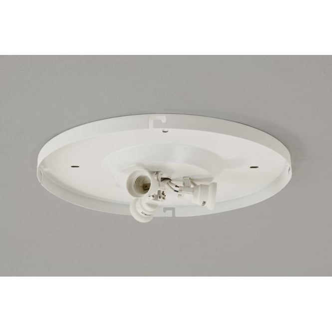 Astro Lighting Bevel 3 Way Plate In White Finish Suitable for the 450 Shades
