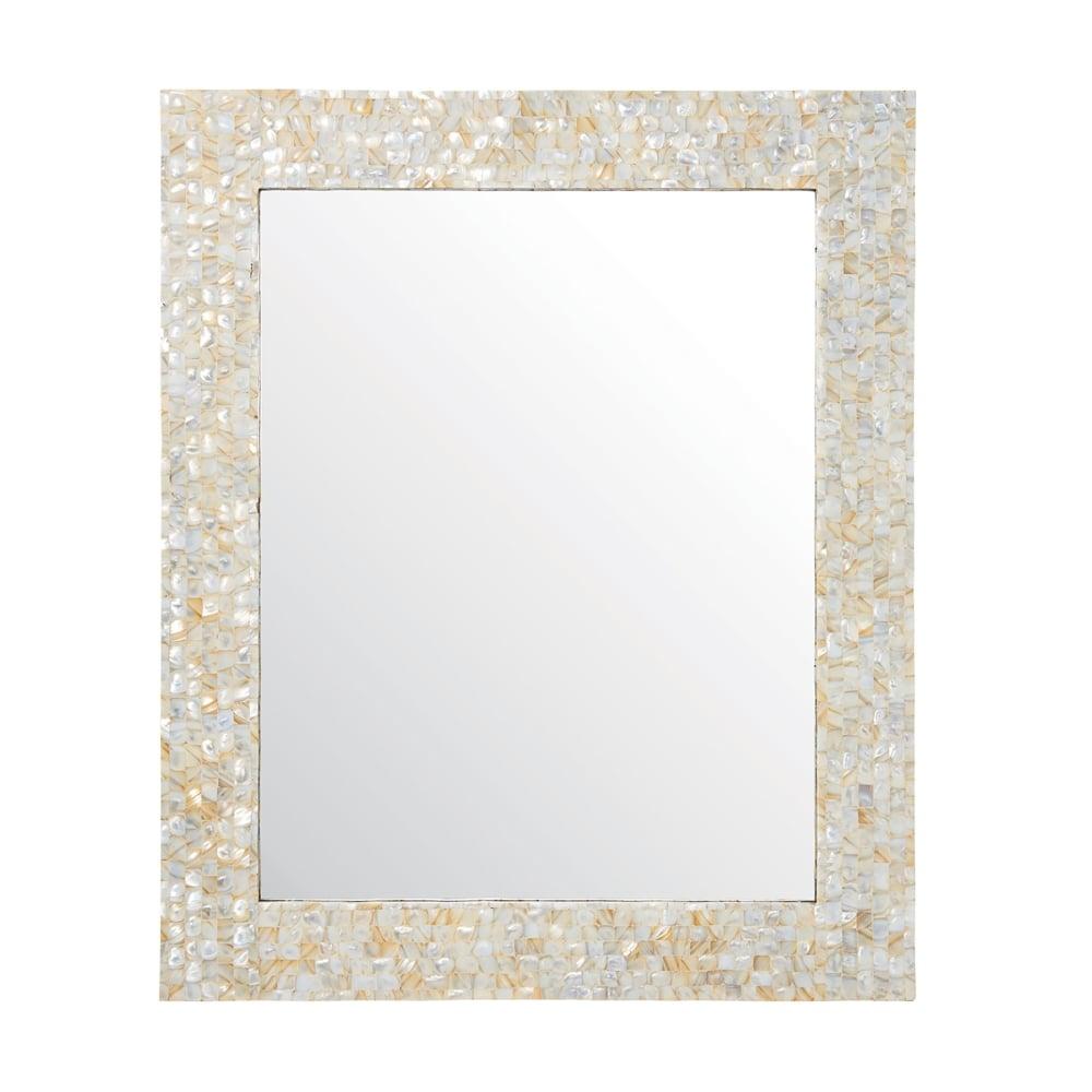 Endon Lighting Bexley Rectangular Mirror In Mother Of