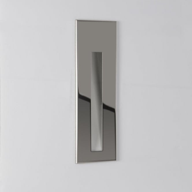 Astro Lighting Borgo 55 Single Light LED Recessed Bathroom Wall Fitting In Polished Chrome Finish