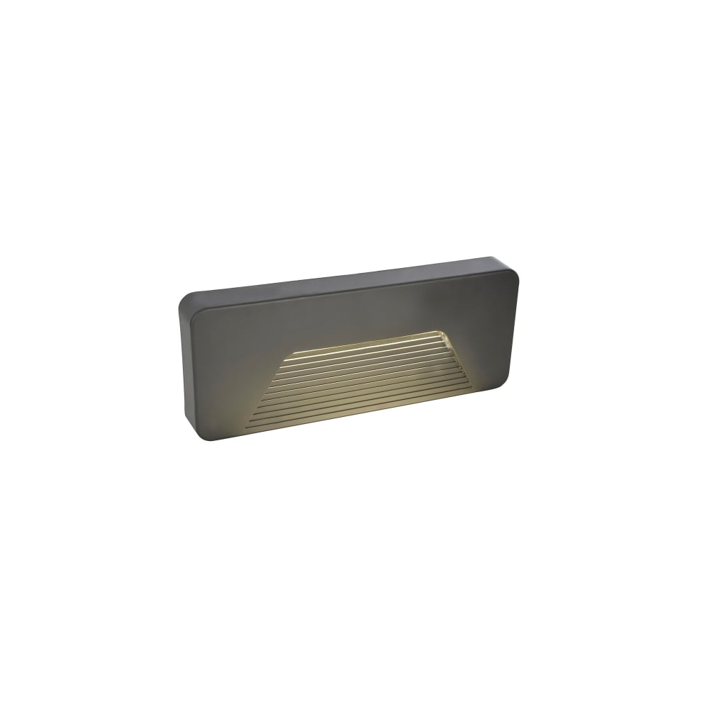 Anthracite Garden Wall Lights : Forum Lighting Breez LED Surface Mounted Outdoor Brick Wall Light In Anthracite Finish ...