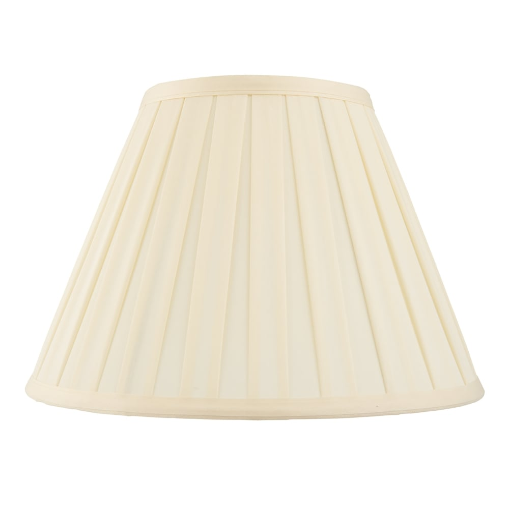 Endon Lighting Carla 18 Inch Tapered Drum Shade In Cream
