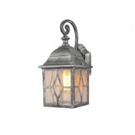 Celia Single Light Outdoor Wall Fitting In Pewter Finish