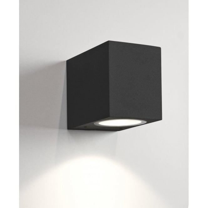 Astro Lighting Chios 80 Single Light Exterior Wall Fitting in Black Finish