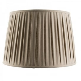 Cleo 18 Inch Taupe Faux Linen Shade