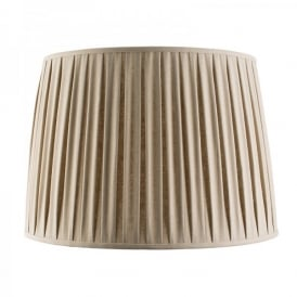 Cleo 22 Inch Taupe Faux Linen Shade