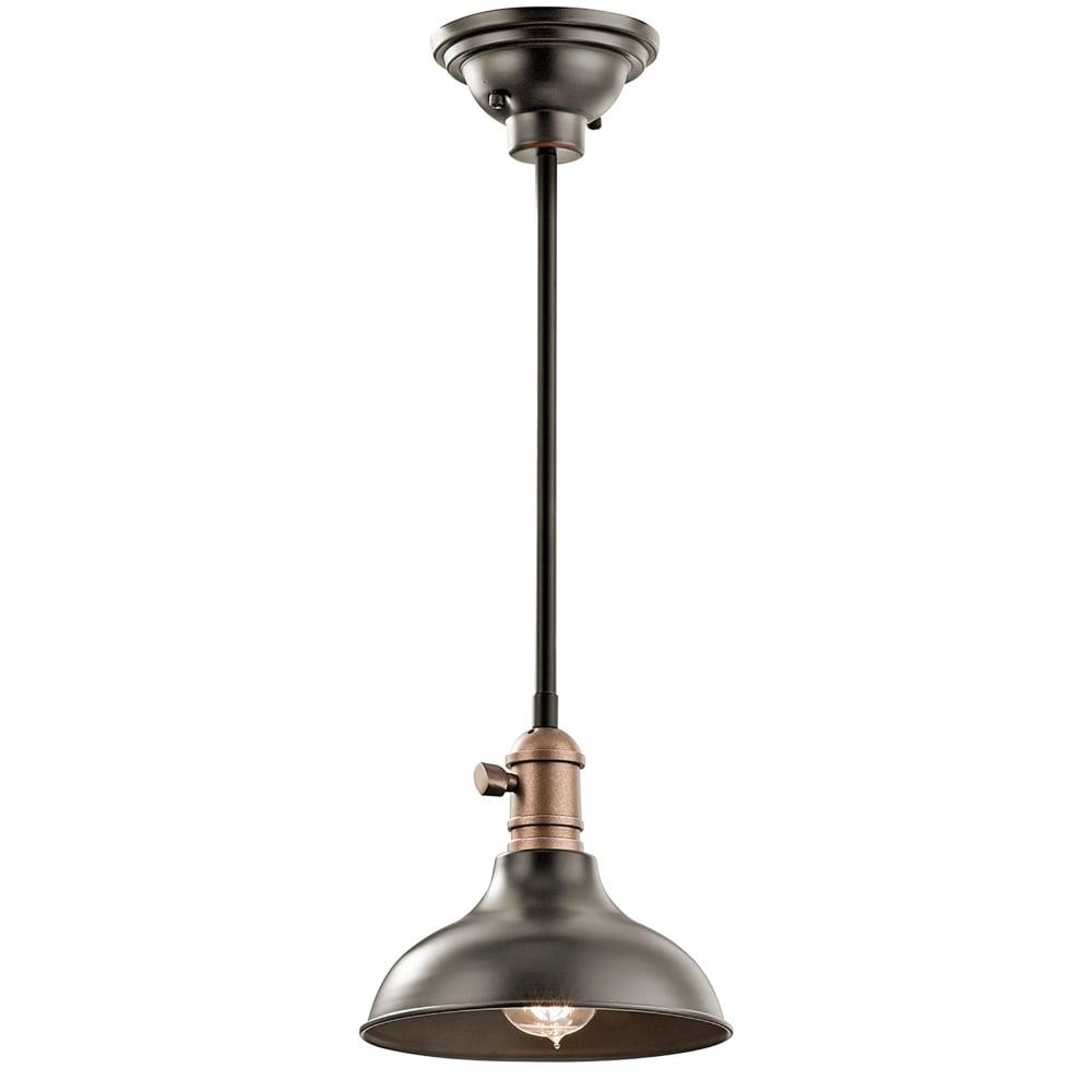Elstead Lighting Cobson Trio Single Light Ceiling Pendant