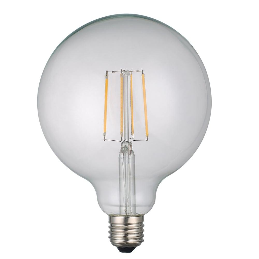 Dar bulbs 6w dimmable led e27 clear classic globe style bulb in warm white product code bul e27 led 20