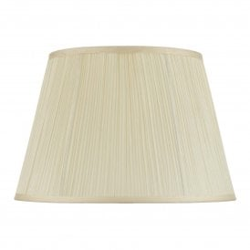 ALW1433 Cream Cotton Tapered String Shade