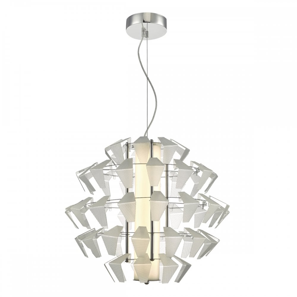FAL8608 Falcon LED Ceiling Pendant in Aluminium Finish