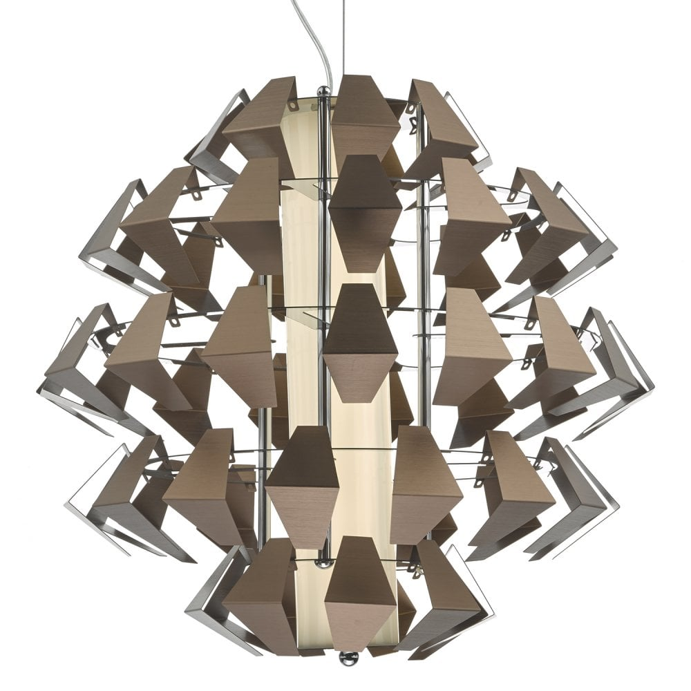 FAL8663 Falcon LED Ceiling Pendant in Bronze Finish
