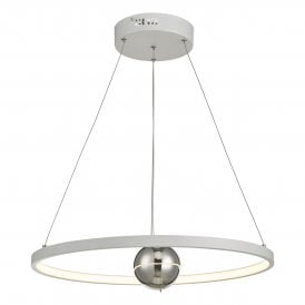 MER862 Mercury LED White Ceiling Pendant