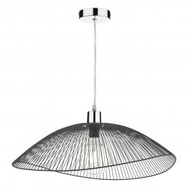 ONZ1722 Onza Easy Fit Twin Pack Pendant Shade In Black Finish