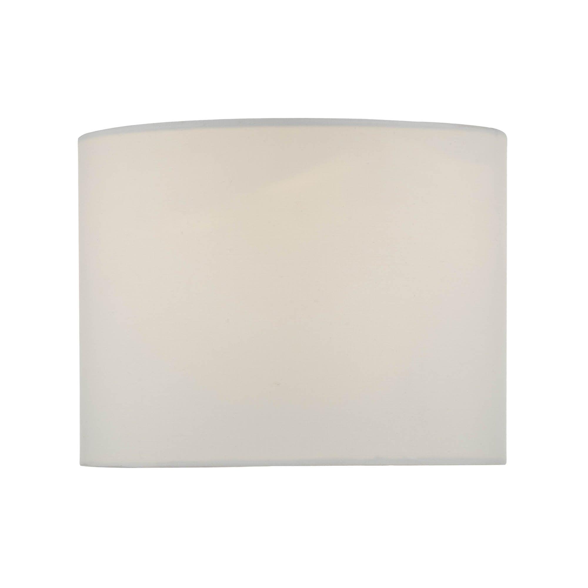 20cm Drum White Shade | Dunelm