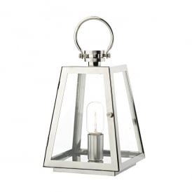 Acre Single Light Outdoor Table Lamp In Stainless Steel Finish