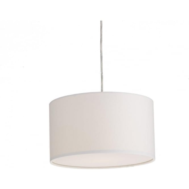 Dar lighting almeria easy fit ceiling light pendant shade in white almeria easy fit ceiling light pendant shade in white finish aloadofball Image collections