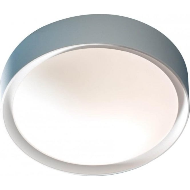 Dar Lighting Beta Single Light Indoor or Outdoor Wall or Ceiling Fitting in White