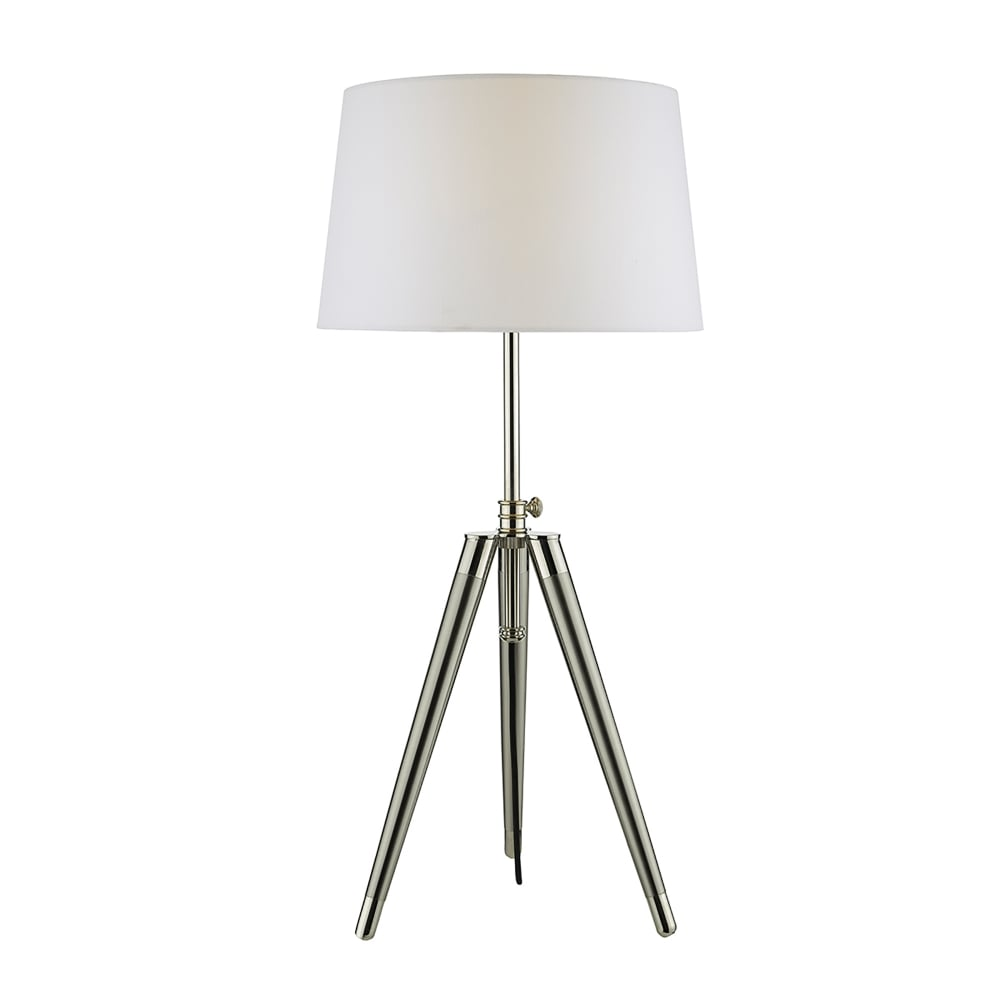 mesh p depot the home nickel brushed metal in table lamps lamp