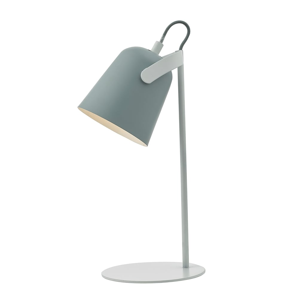 white k floor grey lamp pebble shade with