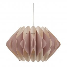 ES16503 Esidro Easy Fit Pendant Shade in Pink Finish