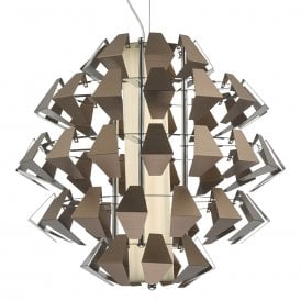 Falcon LED Ceiling Pendant in Bronze Finish