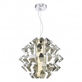 Falcon LED Ceiling Pendant in Polished Chrome