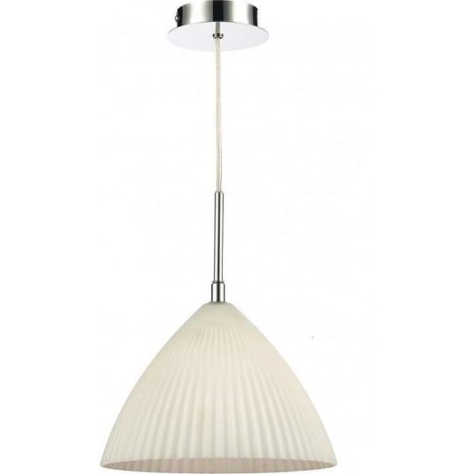 Dar Lighting Lymington Single Light Ceiling Pendant With