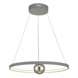 MER8639 Mercury LED Graphite Grey Ceiling Pendant