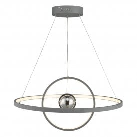 MER8839 Mercury LED Graphite Grey Ceiling Pendant