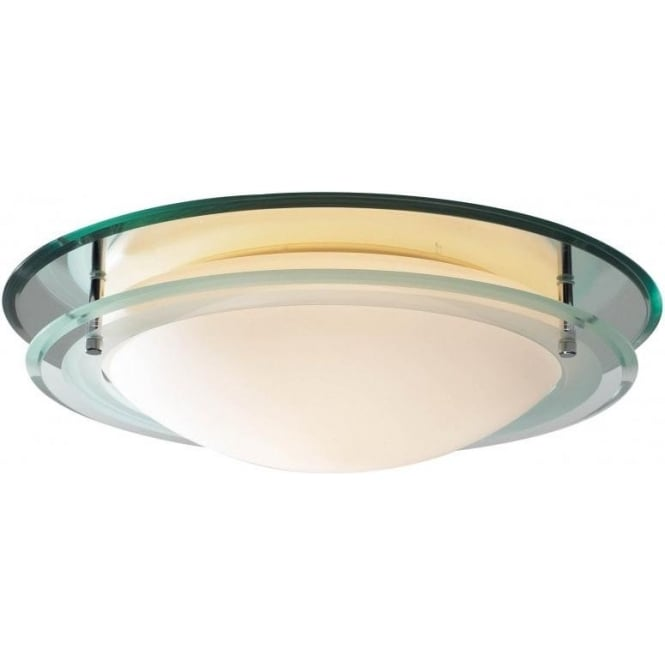 Dar Lighting Osis Single Light Bathroom Ceiling Fitting Castlegate