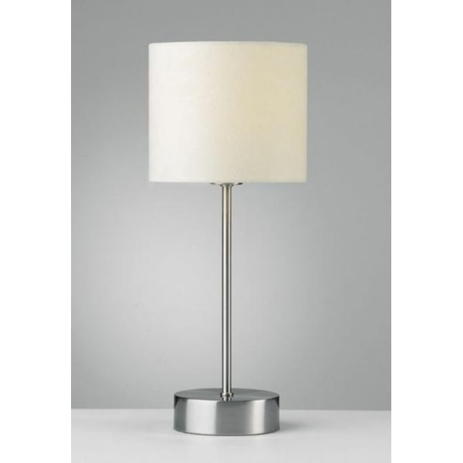 Suz4033 suzie touch table lamp in satin chrome finish