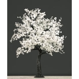 White 2.8m Maple Tree with 2120 Warm White LEDs