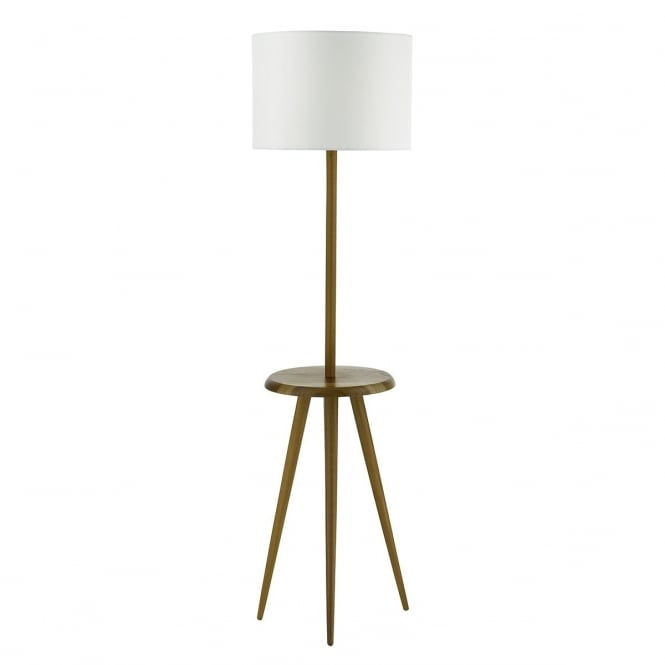 dar lighting wycombe single light wooden table and floor lamp base only in wa. Black Bedroom Furniture Sets. Home Design Ideas