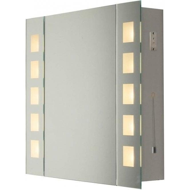 light bathroom wall cabinet lighting type from castlegate lights uk