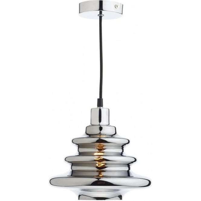 Dar lighting zephyr easy fit ceiling light shade in a polished zephyr easy fit ceiling light shade in a polished chrome finish aloadofball Image collections