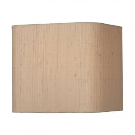 Zumin 100% Silk Drum Shade In Taupe