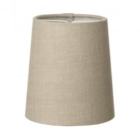 Byron Candle Clip Natural Linen Shade