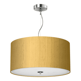 REN1035 Renoir Citron 3 Light 40cm Ceiling Pendant with Polished Chrome Finish