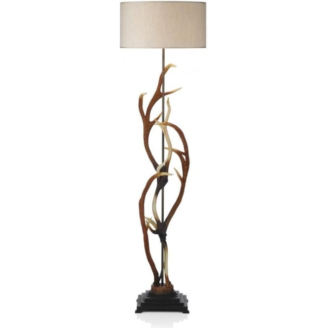 floor org lamp antler lamps whitetail deer