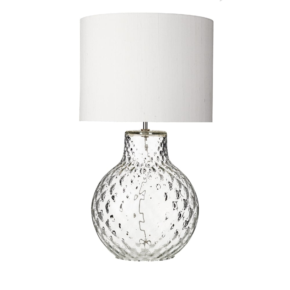 promo code 951e7 b2446 David Hunt Lighting AZO4308 Azores Single Light Large Table Lamp Base Only  in Clear Glass