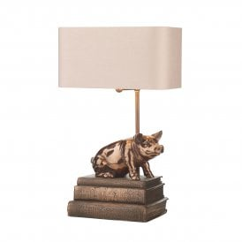 HOR4264 Horace Table Lamp in Copper Finish