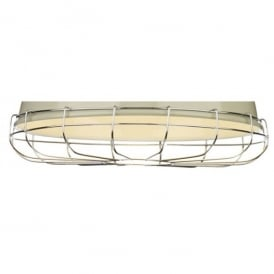 UTI99 Utility Ceiling Pendant Cage Decoration in Polished Chrome