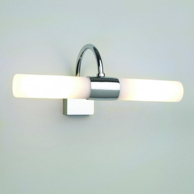 Astro Lighting Dayton 2 Light Bathroom Wall Fitting in Polished Chrome Finish
