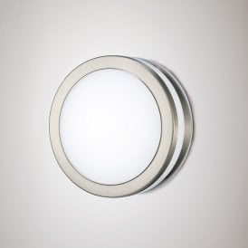 Aldo 2.4w Integrated LED Outdoor Wall Or Ceiling Fitting in Stainless Steel Finish