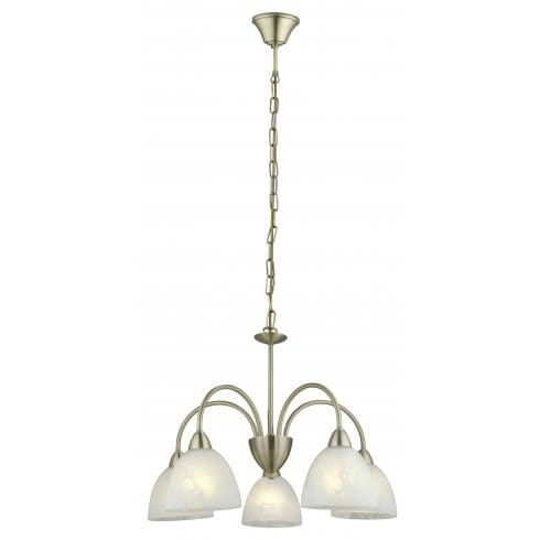 eglo lighting dionis 5 light ceiling pendant in antique bronze finish with white glass shade. Black Bedroom Furniture Sets. Home Design Ideas