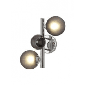 Discovery Astronomer 2 Light Wall Fitting in Polished Chrome Finish