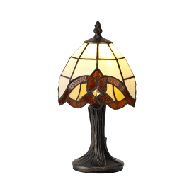 Bohemian Single Light Tiffany Style Table Lamp
